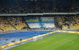 Ультрас «Динамо» исполнили любимую фанатскую песню про Путина