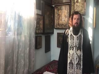 Священник УПЦ записал видеообращение в связи с очередным вызовом на допрос в СБУ