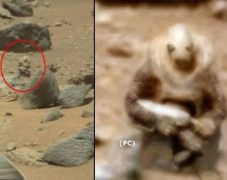 Каталог загадочных объектов, найденных на Марсе. Видео на канале «Фразы»