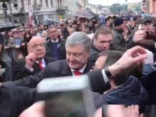 Появилось видео, как Москаль «спас» Порошенко от неудобного вопроса