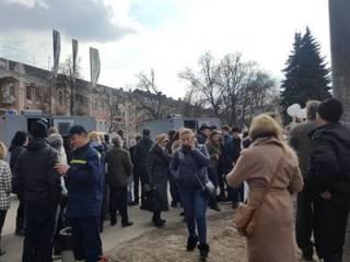 В Полтаве Нацкорпус устроил потасовку с полицией. Копы в долгу не остались