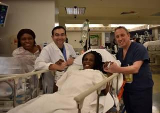 Американка родила шесть детей за девять минут