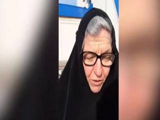 Монахиня, избитая во время штурма храма УПЦ в Барановке, подала заявление в полицию