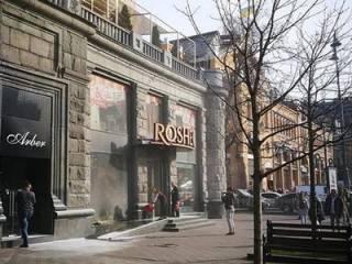 Стало известно, кто стоит за поджогами магазинов Roshen в Киеве