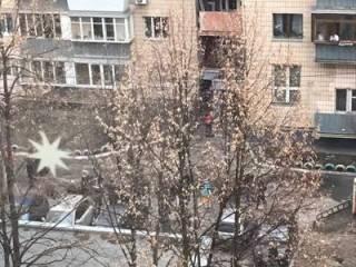 В Киеве взорвали подъезд жилого дома