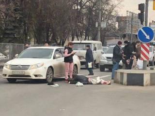 В Харькове полицейская «шишка» задавила старика прямо на пешеходном переходе, ‒ СМИ