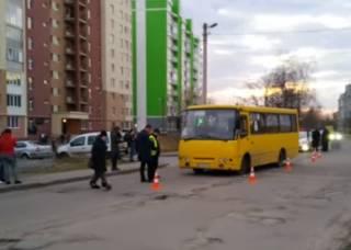 Жертвой маршрутки во Львове стала маленькая девочка