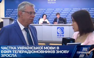 Одесская и Луганская области дали наибольший прирост украиноязычного продукта в СМИ, — Артеменко