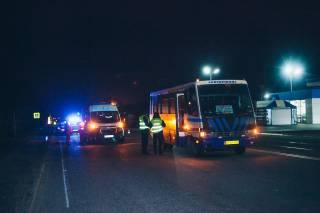 Выпивший мужчина стал жертвой рейсового автобуса под Днепром