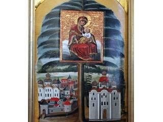 В Чернигове завершили реставрацию Елецкой иконы Богородицы