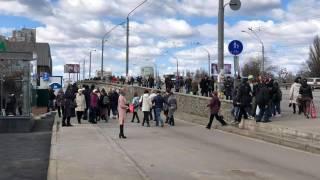 На входе у одной из станций столичного метро произошла серьезная давка