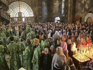 Православные отметили Собор всех преподобных Печерских