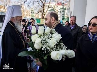 Одесский митрополит УПЦ поздравил греческого Генконсула с Днем независимости