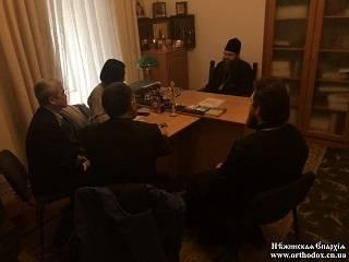 Нежинский архиепископ УПЦ рассказал представителям ОБСЕ о нарушениях прав верующих в регионе