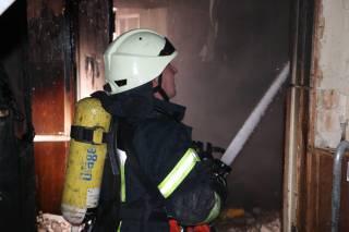 В Киеве горел колледж. Пришлось эвакуировать всех студентов