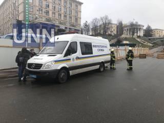В Киеве неизвестные «заминировали» Майдан Независимости