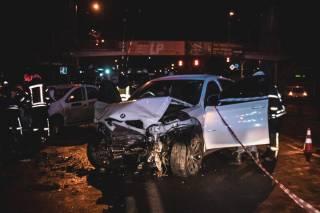 Ночью в Киеве произошло кровавое ДТП