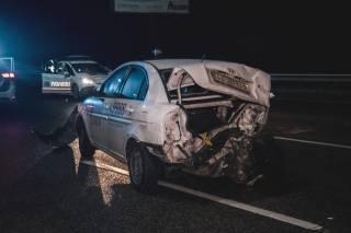 Под Киевом из-за гололеда произошла авария с участием двадцати машин