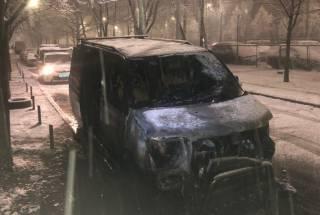 В Киеве снова сожгли авто доверенного лица кандидата в президенты Украины