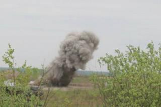 На полигоне под Черниговом прогремел взрыв. Ранен военный