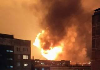 Названа причина масштабных взрывов в Кропивницком