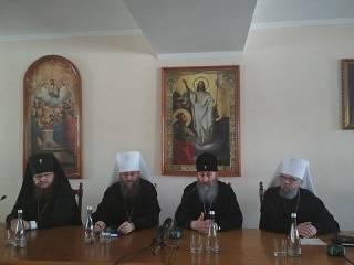 Накануне выборов Митрополит Онуфрий обратился к священникам: мы идем за Христом