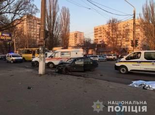 В Одессе «евробляхер» задавил сразу троих нацгвардейцев