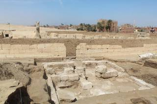 Археологи наткнулись в Египте на дворец Рамзеса II