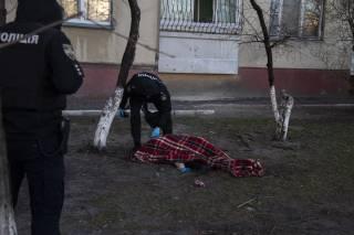 В Киеве пожилой мужчина выбросился с 12-го этажа