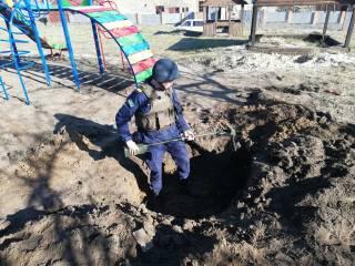 Под игровой площадкой детсада на Киевщине найдены шесть опасных мин