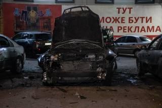 Взрыв автомобиля в Киеве: хотели убить военного разведчика?