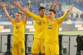 Сборная Украины по футболу поднялась сразу на три ступени в рейтинге ФИФА