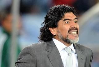 Марадона устроил скандал в Мексике, посвятив победу своей команды Мадуро