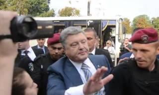 Порошенко приехал сдавать анализы: онлайн-трансляция