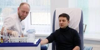 Кровь у Зеленского взял участник телешоу и специалист по подбору индивидуальных стелек