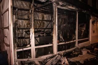 Ночью в Киеве произошел еще один крупный пожар