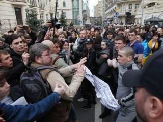 Под офисом Зеленского произошла драка