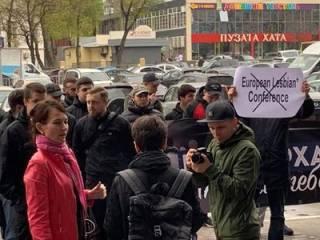 В Киеве радикалы напали на «европейскую» ЛГБТ-конференцию