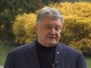 Порошенко записал видеообращение, адресованное «сбежавшему» Зеленскому