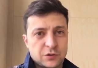 Зеленский опубликовал новое видеообращение к Порошенко, призвав его «не бегать по телеканалам»
