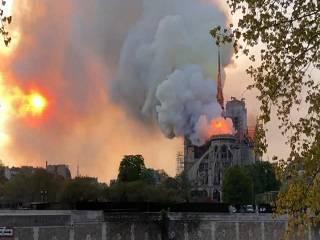 РПЦ – о пожаре в соборе Парижской Богоматери: Мир уже не будет прежним