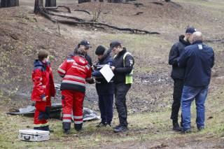 В киевском лесу нашли труп бомжа (18+)