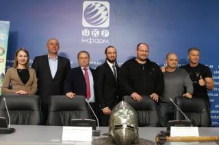В Киеве рассказали о предстоящем Чемпионате мира по средневековому бою IMCF 2019