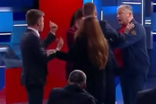 «Иуда! Перебежчик!»: в эфире ток-шоу грязно поругались Червоненко и Гончаренко (18+)