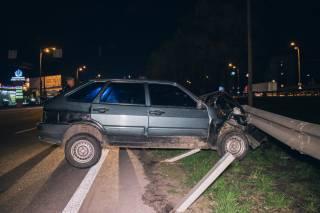 «Пьяное» ДТП в Киеве: появилось видео аварии