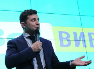 Выборы президента Украины 2019. Прямой эфир со штаба Зеленского