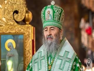 Митрополит Онуфрий поздравил Зеленского с избранием Президентом Украины