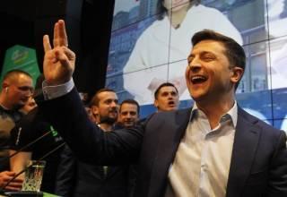 Выборы-2019: Киев единодушно проголосовал за Зеленского