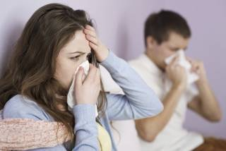 За неделю в Киеве гриппом заболели более 9 тысяч человек