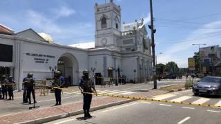 На Шри-Ланке прогремел очередной мощный взрыв. Появилось видео
